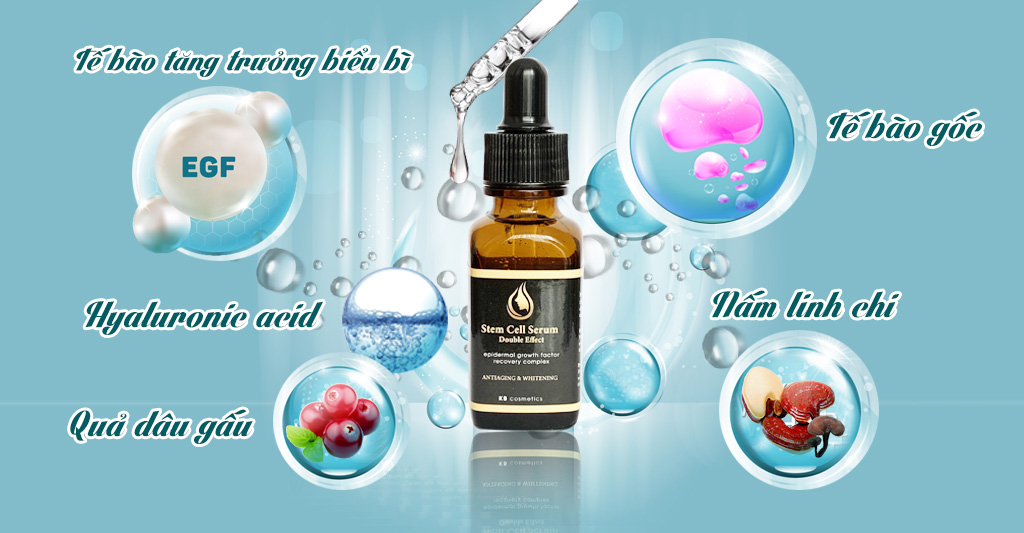 thành phần serum stem cell double effect
